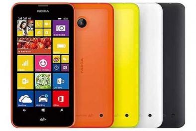 Công bố Lumia 638 giá khoảng 2,8 triệu đồng