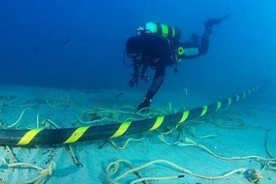 Đứt cáp quang biển AAG ngay đầu năm mới