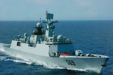 Trung Quốc giới thiệu tàu hộ vệ mới Type 054A