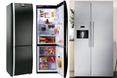 Tủ lạnh ồ ạt giảm giá trong mùa mua sắm trước Tết Ất Mùi