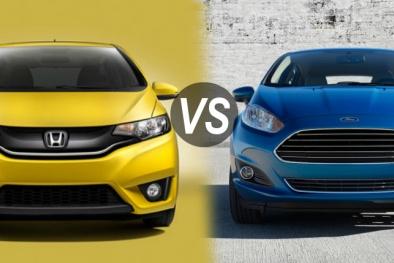 Honda Fit 2015 và Ford Fiesta 2014: Cuộc chiến phân khúc xe tiết kiệm nhiên liệu