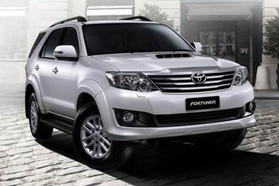 Toyota Innova và Toyota Fortuner cạnh tranh trong phân khúc xe gia đình
