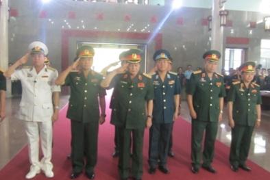Bắt đầu lễ viếng 4 quân nhân hy sinh vụ máy bay rơi ở TP.HCM