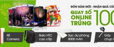 Khuyến mãi tết 2015 cùng HTC