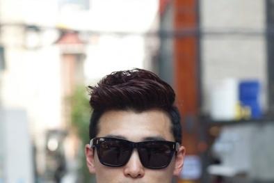 Kiểu tóc nam 2015 phù hợp cho người mặt vuông