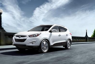 Honda CR-V và Huyndai Tucson - đối thủ phân khúc xe gia đình cỡ nhỏ