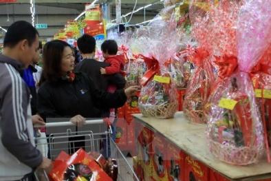 Giỏ quà Tết: Siêu thị chiếm lĩnh thị trường với nhiều dịch vụ