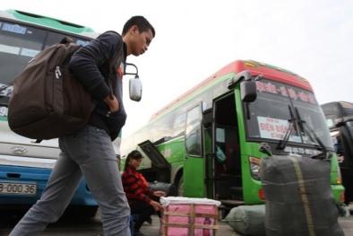 Quá nửa xe khách Hà Nội 'thà chịu phạt chứ không giảm giá vé'