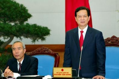 Thủ tướng Nguyễn Tấn Dũng: Tăng cường phối hợp giải quyết dứt điểm vụ việc tồn động kéo dài