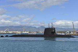 Tìm hiểu tàu ngầm lớp Soryu siêu tàng hình của Nhật Bản