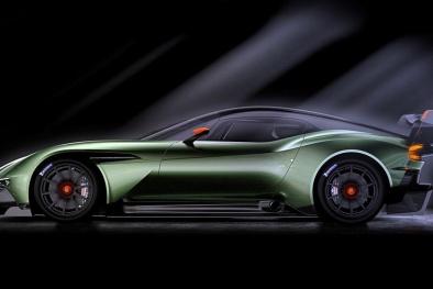 Vẻ đẹp ấn tượng của siêu xe 800 mã lực Aston Martin Vulcan mới trình làng