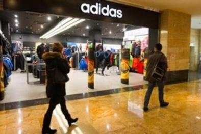 Adidas ngừng hoạt động 200 cửa hàng ở Nga