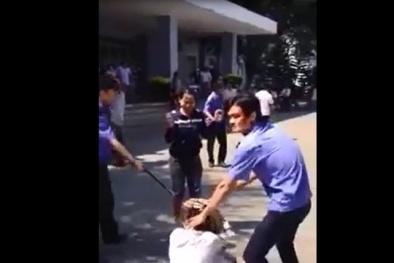 Dân bức xúc quay clip tố bảo vệ Bệnh viện đa khoa Quảng Ngãi đánh người