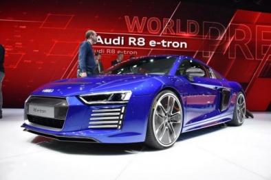 Siêu xe Audi R8 2016 – Điểm nhấn ấn tượng tại Geneva Motor Show 2015