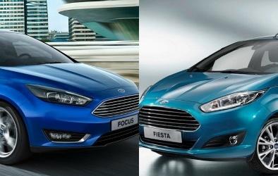 Ford Fiesta và Ford Focus dẫn đầu dòng xe compact