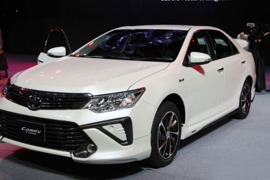 'Vua sedan hạng trung' Toyota Camry 2015 sắp về Việt Nam