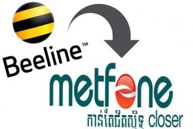 Metfone của Viettel thâu tóm Beeline ở Cambodia