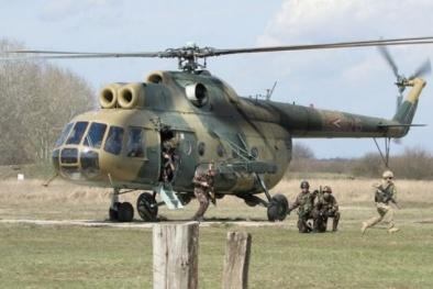 Tìm hiểu trực thăng quân sự MI8 rơi ở đảo Phú Quý
