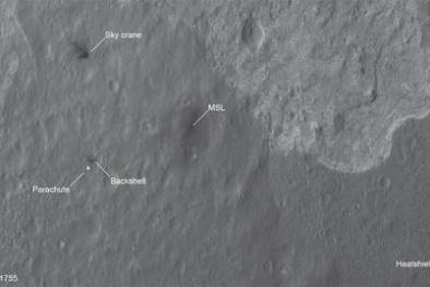 Tồn tại vệt đen bí ẩn trên bề mặt Sao Hỏa