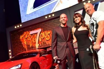 Đếm ngược chờ ngày 'Fast and Furious 7' công chiếu tại Việt Nam