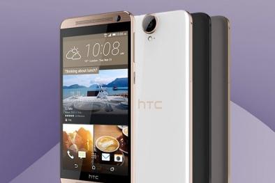 HTC One E9 Plus vỏ nhựa kim loại chính thức ra mắt