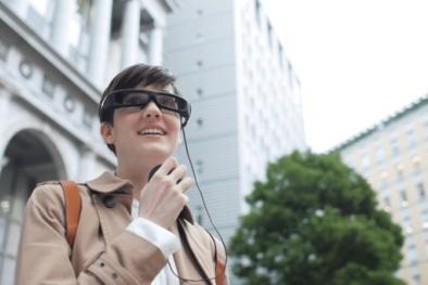 Sony chính thức ra mắt kính thông minh SmartEyeGlass
