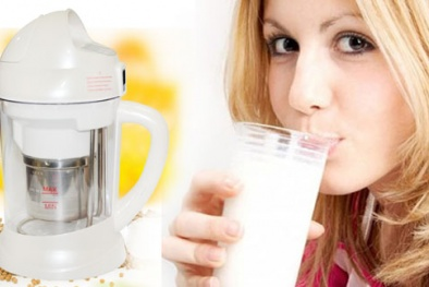 Chọn mua máy làm sữa đậu nành 'đáng đồng tiền bát gạo'