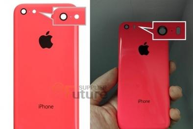 Rò rỉ hình ảnh iPhone 6C phiên bản vỏ nhựa màu sắc