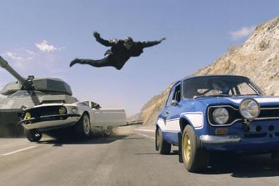 Fans thực sự  đã mắt, đã tai với 'Fast and Furious 7'