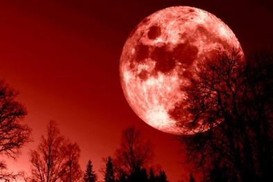 Quan niệm ma mị về Mặt trăng máu của người xưa