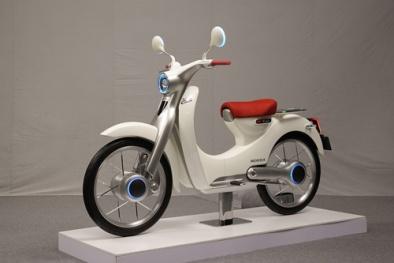 Huyền thoại Honda Super Cub phiên bản chạy điện chính thức lộ diện