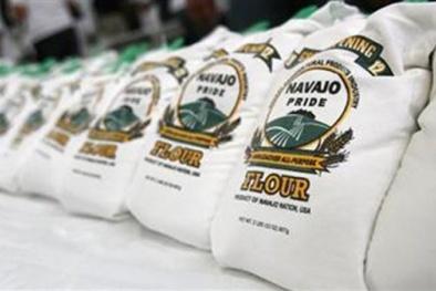 Mỹ : Thu hồi bột mỳ đa dụng nhiễm khuẩn Salmonella