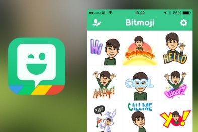 Tự tạo biểu tượng cảm xúc với Bitmoji Keyboard