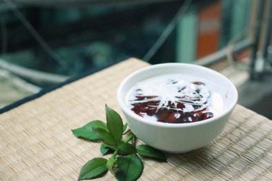 Cách làm sữa chua đậu đỏ thơm mát cho ngày hè