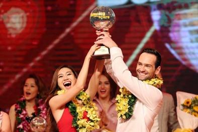 Chung kết Bước nhảy Hoàn vũ 2015: Lan Ngọc đạt danh hiệu Quán quân với điểm tuyệt đối