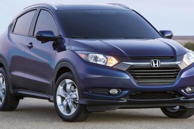 Mini crossover Honda HR-V 2015 gây 'bão' hè 2015