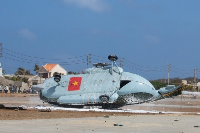 Tin tức mới nhất về 2 máy bay quân sự rơi ở đảo Phú Quý