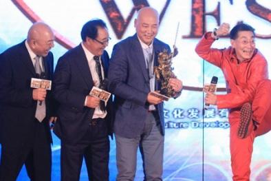'Bốn thầy trò Đường Tăng' dẻo dai bay nhảy trong họp báo Tây Du Ký 3D