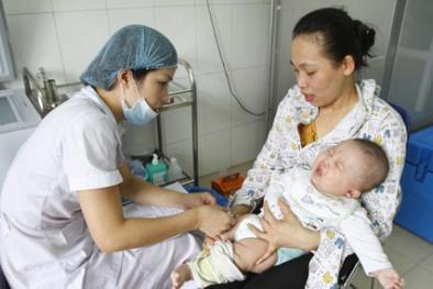 Hà Nội bắt đầu tiêm chủng cho trẻ