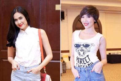 3 mốt quần jeans khiến sao Việt 'mê mẩn'