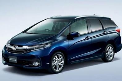 Honda Shuttle – 'Chiến binh' mới cho dòng xe gia đình