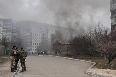 Tình hình Ukraine mới nhất: Tiếp tục vi phạm lệnh ngừng bắn ở miền Đông Ukraine