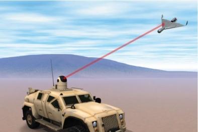Mỹ phát triển vũ khí laser khắc tinh của máy bay không người lái