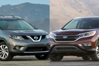 Honda CR-V 'lột xác' quyết chiến với Nissan Rogue