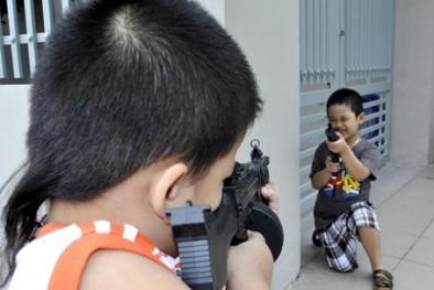 Đồ chơi bạo lực: Phụ huynh đừng làm ngơ!