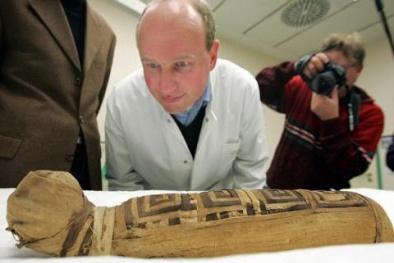 Phát hiện gần 300 xác ướp động vật giả trong hầm mộ Ai Cập cổ đại