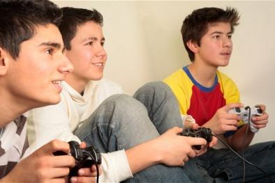 Nguy cơ teo não vì chơi games quá nhiều