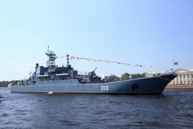 Nhiều tàu chiến gia nhập biệt đội Hải quân Nga tại Địa Trung Hải