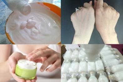 Kích trắng da bằng sữa non cô đặc 'ngậm'... hóa chất