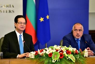 Thủ tướng Nguyễn Tấn Dũng hội đàm với Thủ tướng Bulgaria Boyko Borissov